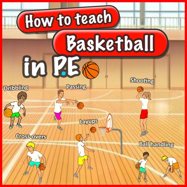 How to teach basketball skills in PE
