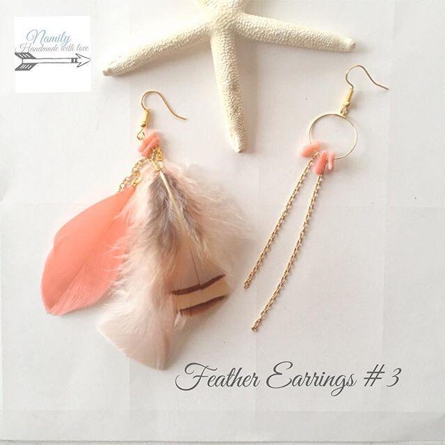 NEW♡ Feathers Earrings 本日オンラインストアにUP致しました♡ @mrs.namily フェザーピアスとても人気です♡♡ #handmade #handmadejewelry #handmadeaccessary #fashion #feather #earrings #turquoise #天然石 #bohemian #ハンドメイド #ハンドメイドアクセサリー #ハンドメイドジュエリー #ピアス #ターコイズ #フェザーピアス #ターコイズ #トレンド #ヒッピー #ボヘミアン #夏 #山中美智子 #プチプラ #ファッション #summer #beach #プチプラ #秋冬ピアス #ロンハーマン #crystal #羽根ピアス #珊瑚 #フォークロア