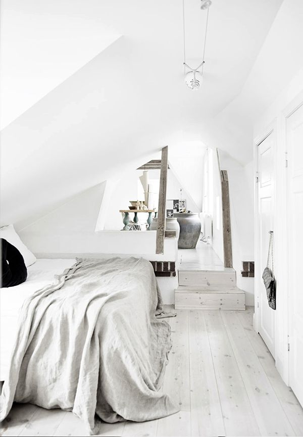 Ethnic and nordic apartment // those loft feels.