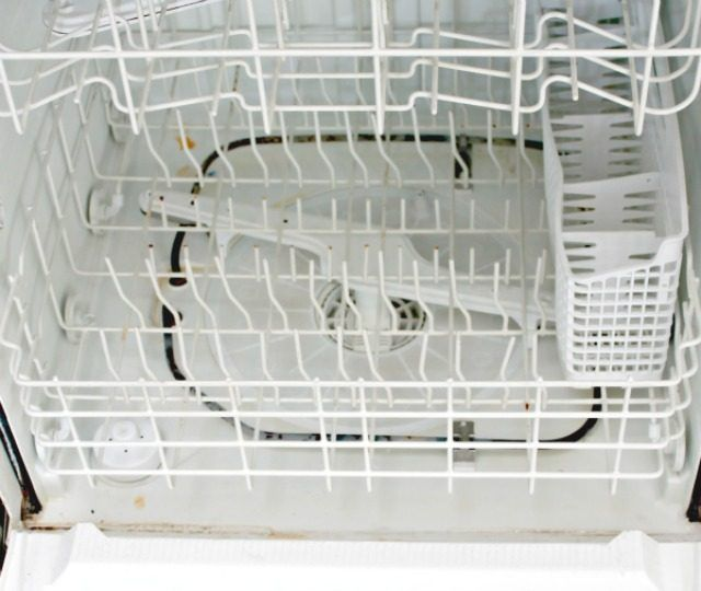 how to clean inside of stainless dishwasher