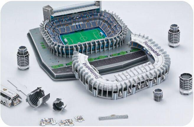 Puzzle stade de foot Santiago Bernabeu