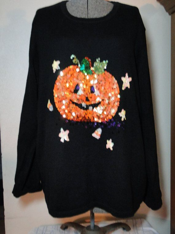 Ugly Halloween Sweater  Cheap  Jumper  Tacky by ABetterSweaterShop, $19.99