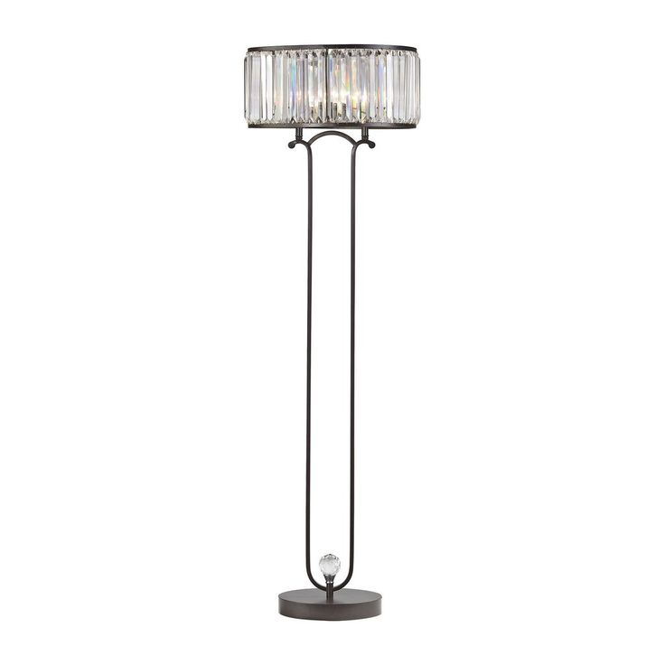 dimond lighting rudolfo modern floor lamp in bronze d3012
