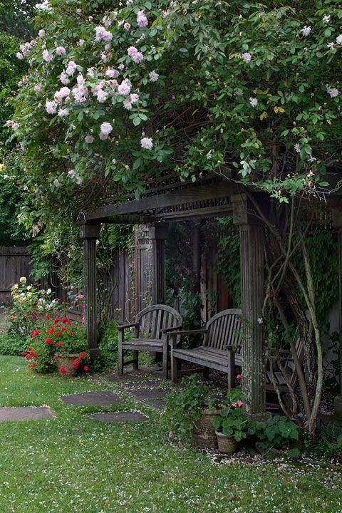 Great garden idea <3