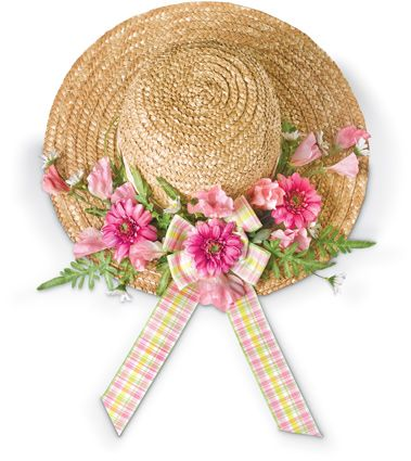 6916: Straw Hat Wall Décor/Spring (Product Detail)
