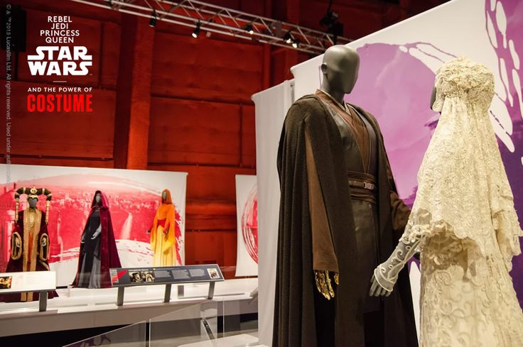 Best dressed couple in the universe? Padmé and Anakin costume feature for #ValentinesDay The #StarWarsCostumes exhibition from the Smithsonian, the Lucas Museum of Narrative Art, and Lucasfilm is currently on the road. Courtesy @empmuseum /Photo by Brady Harvey http://www.powerofcostume.si.edu