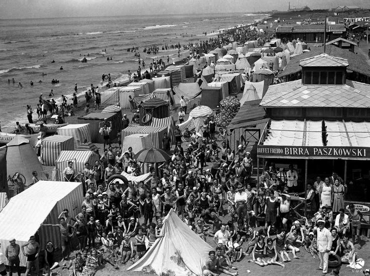 Ostia - Stabilimento balneare - 1931