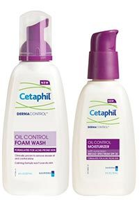Cetaphil Oil Control Products-Best face wash and moisterizer for oily skin // Perfect for my skin
