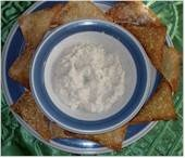 Crab Rangoon dip and link for Chinese Ribs http://chinesefood.about.com/od/spareribs/r/barbecuedribs.htm