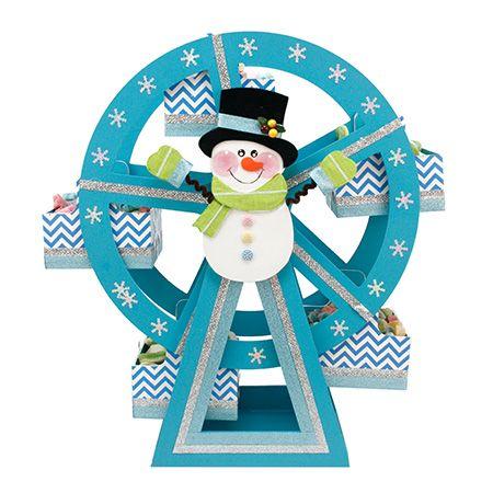 Rueda de la fortuna con mu eco navidad pinterest for Decoracion con ruedas