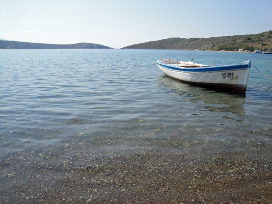 Fishing boat in #Vivari, #Nafplio - Greece