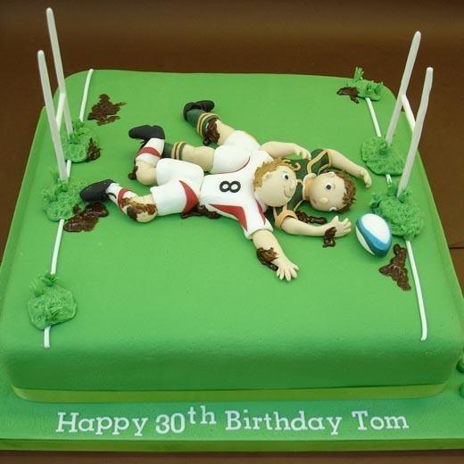 A Game of Rugby - Cakes 4 Fun cakes and cake decorating