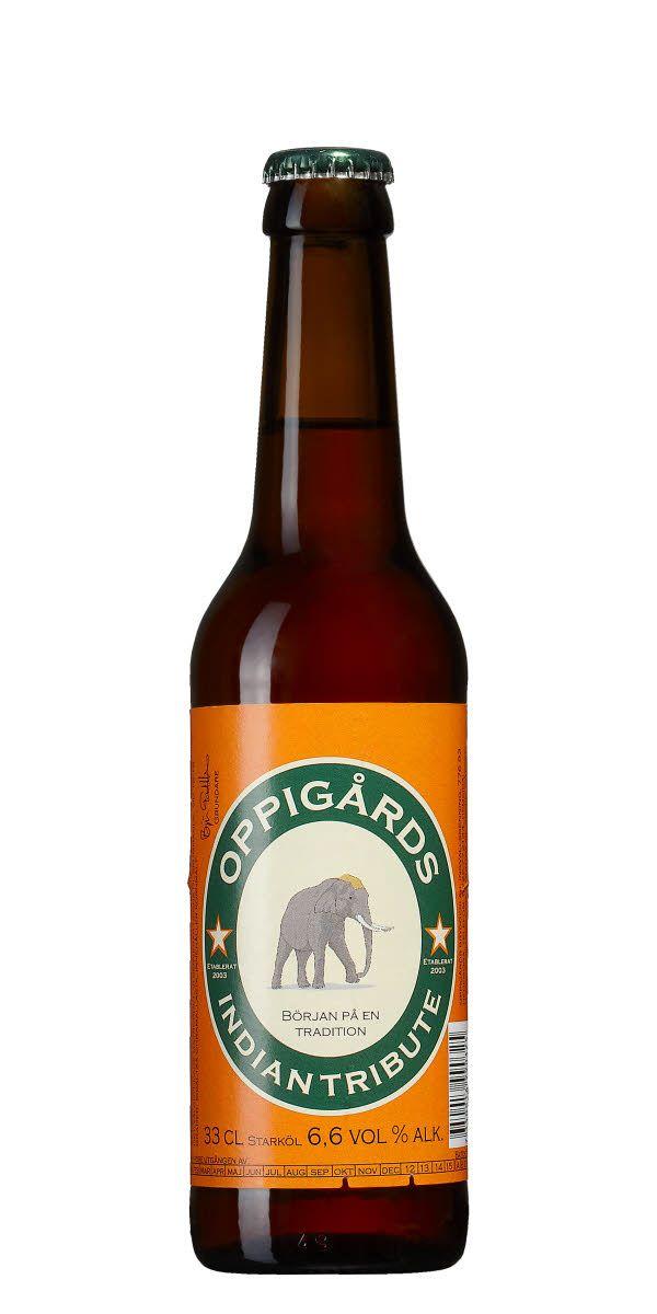 Oppigårds hyllning till den klassiska India Pale Ale, med tydliga citrussmaker från amerikansk Cascadehumle och lång utdragen beska,