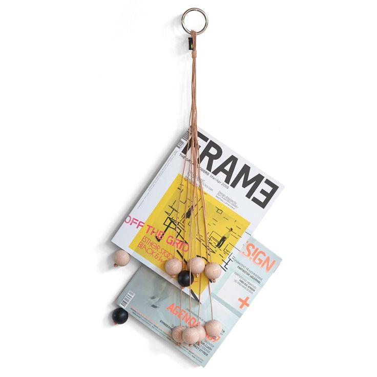 Magazine Hang Out tidningsställ, natur – by Wirth – Köp online på Rum21.se