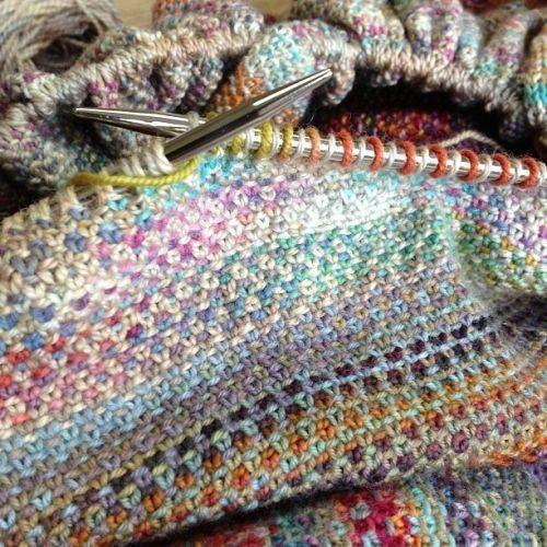 We Like Knitting: Linen Stitch - Tutorial