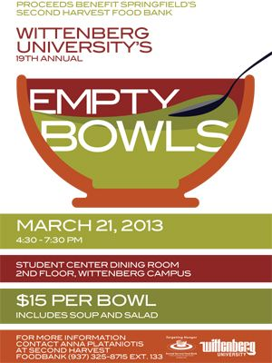Wittenberg To Host 19th Annual Empty Bowls Fundraiser March 21 ...