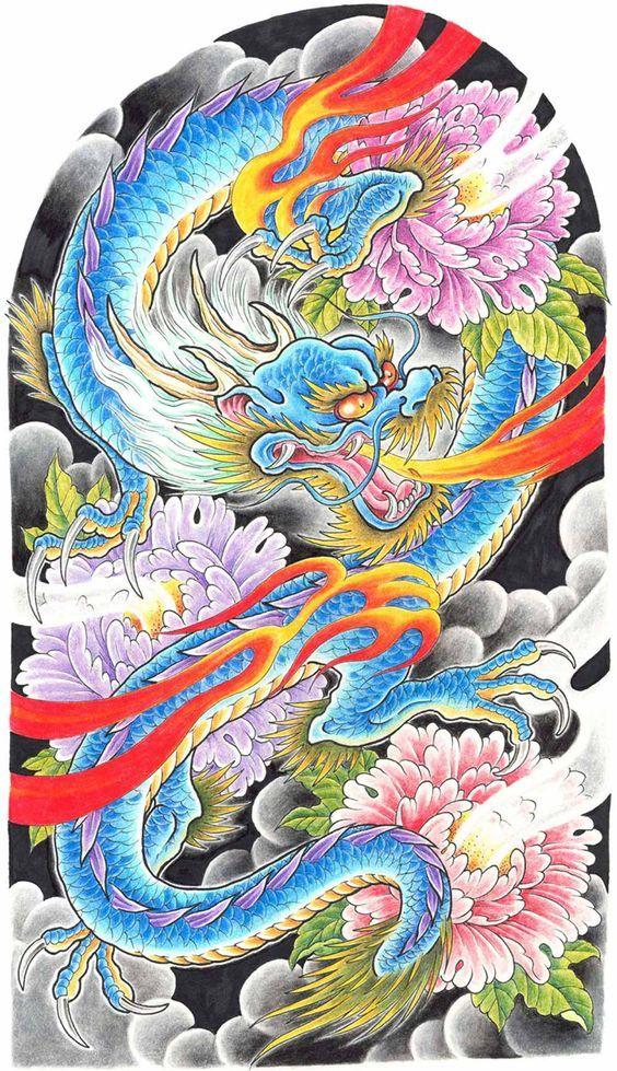 54 Tatuajes De Dragones Orientales Su Significado Y Disenos