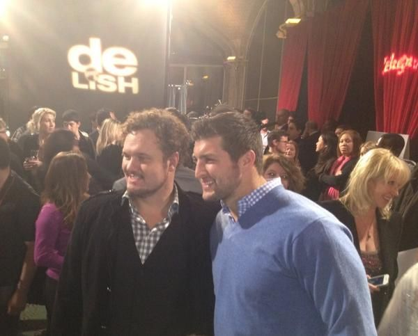 David Phelps and Tim Tebow at the Celebrity Apprentice finale!...ooohhh great combo!