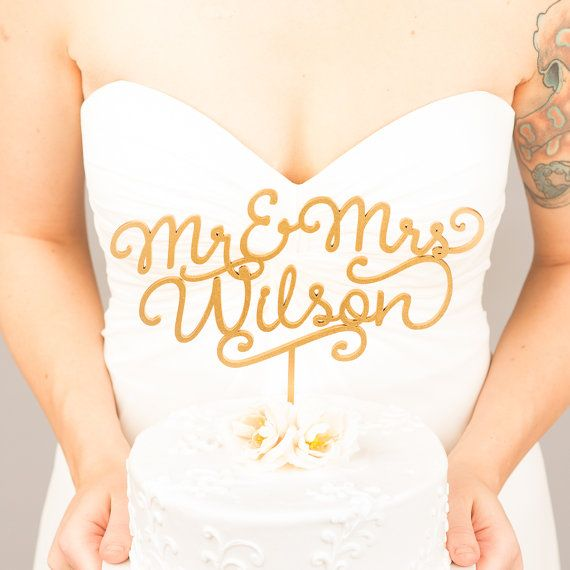 ::: SWEETHEART COLLECTION - WEDDING CAKE TOPPER ::: ::: HELLO! ::: I'm Tina, the creator of the original Statement Wedding Cake Topper™. Each