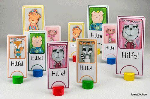 #HILFEKARTEN für die Grundschule - Link zum Material: http://www.sonja-mengkowski.de/unterrichtsmaterial/material-fuer-die-grundschule-sonstiges/