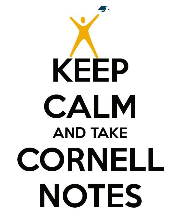 How to/Exemplars of Cornell notes for chemistry, math, ELA