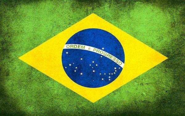 Bandera Brasil RESINA