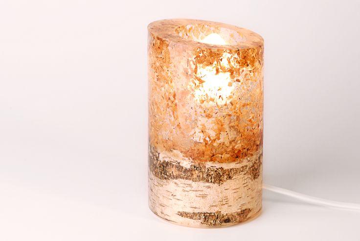 """Betulo"" lamp Handmade lamp by Victor Lazar  #lamp #lamps #lightwork #handmade #wood #woodworking #epoxy"