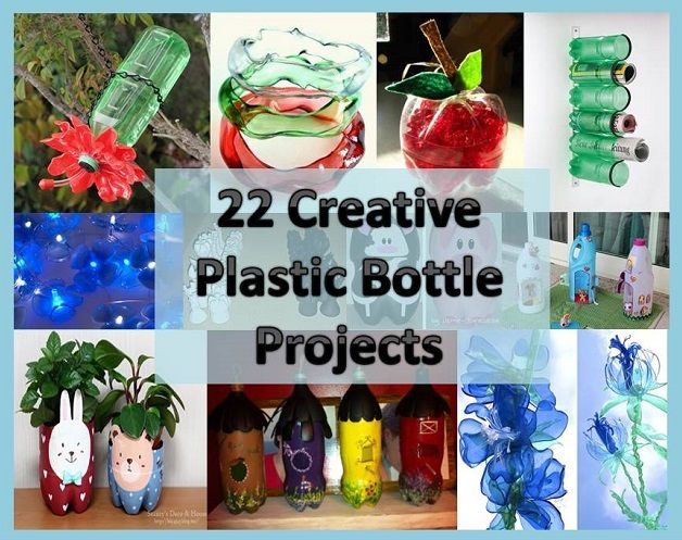 174 best images about recycle and reuse crafts on for Recycled crafts ideas plastic bottles