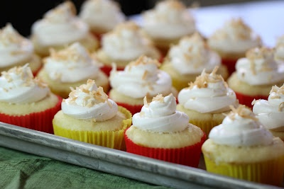 No-Bake Lemon Cream & Coconut Icebox Cupcakes Recipe — Dishmaps