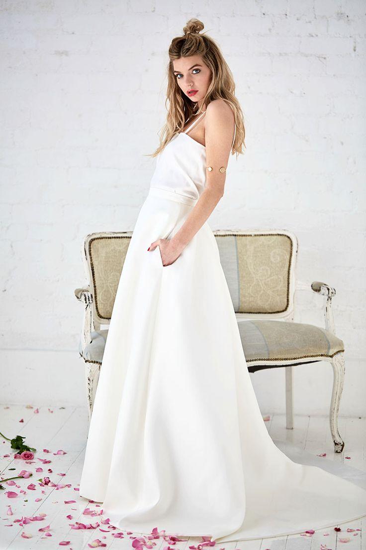 Hero   Stretch Satin Camisole   Wedding Dress Layering   Charlotte Balbier
