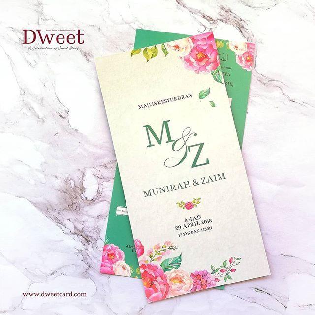 Jika Anda Menempah Kad Undangan Di Dweetcard Sekarang Anda Memang Akan Mendapat 8 Barang Anda Mungkin Akan Berpeluang Men Kad Kahwin Book Cover Books