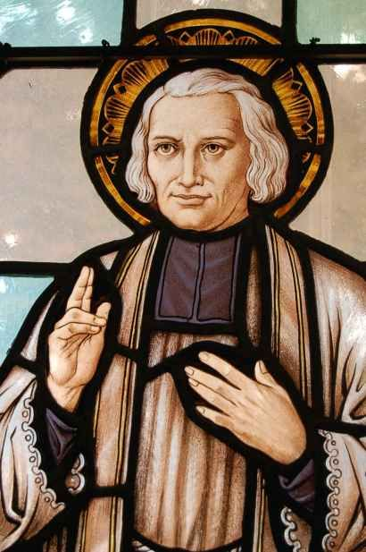 Happy Feast day of St John Vianney – August 4 #pinterest  A man with vision overcomes obstacles and performs deeds that seem impossible. John Vianney was a man with vision: He wanted to become a priest. But he had to overcome his meager formal schooling, which inadequately .......| Awestruck