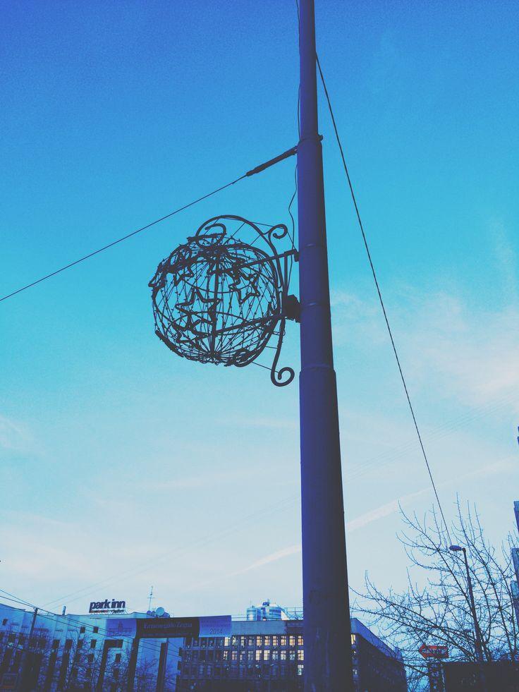 Звездный шар в небе