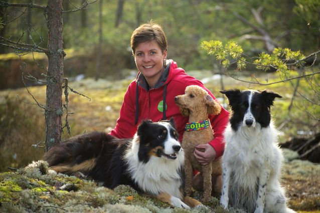 """It´s really important for me that my dogs get all the nutrients they need. From the Nutrolin® products it´s easy to find targeted products that fit each of my dogs´ needs. Mac is getting Sport and Skin & coat, Katla gets Joint Duo and little Olle gets Skin & coat. I can continue our active life when I know that my dogs are taken care of."" tells Jessica Svanljung who competes in obedience at international level. Jessica is also a professional dog trainer."
