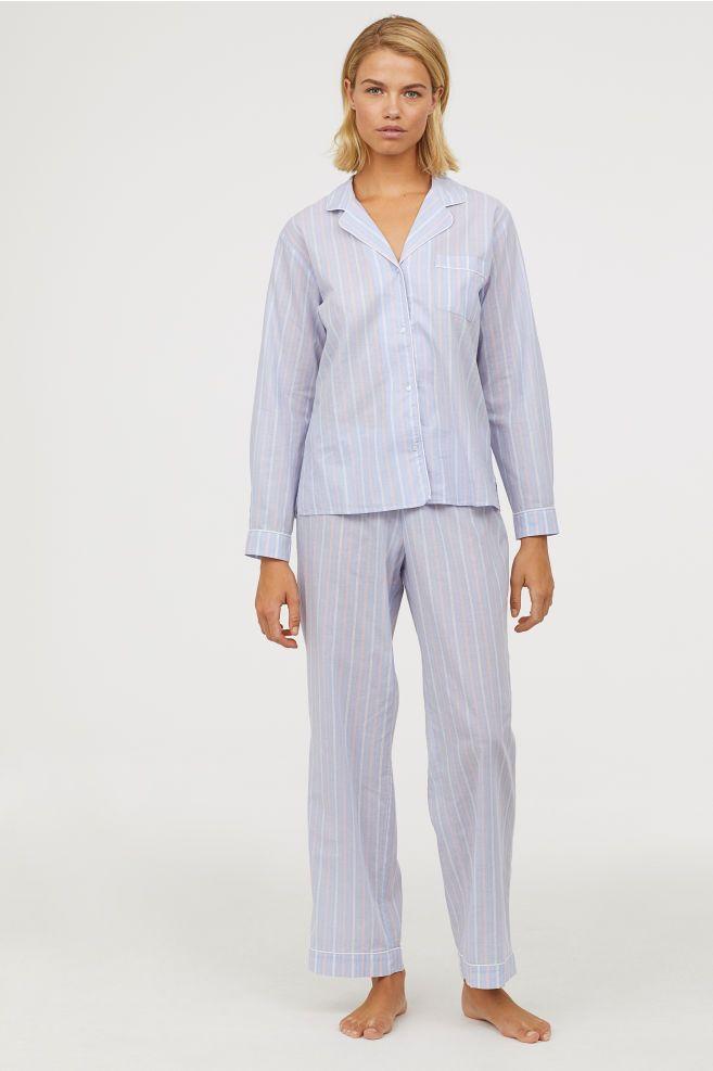 188b854f97a Natsæt med skjorte og bukser   Shopping :)   Pajama shirt, Pajamas ...