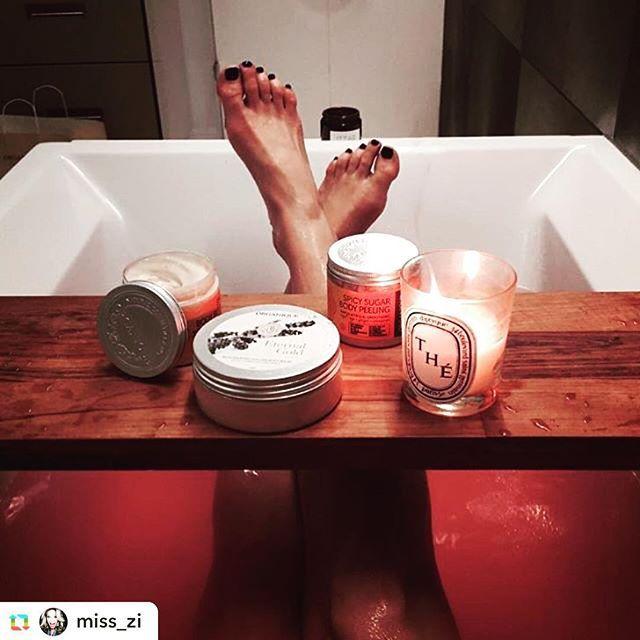 Dzisiaj czas na zasłużony odpoczynek ☺️ @miss_zi #organique #bath #bathbomb #EternalGold #Spicy #peeling #bodybalm #skincare #candles #relax #smellssogood #enjoy #organiquecosmetics #natural #handmadewithlove