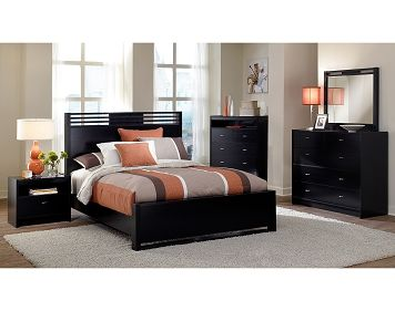 The Bally Espresso Collection   Value City Furniture