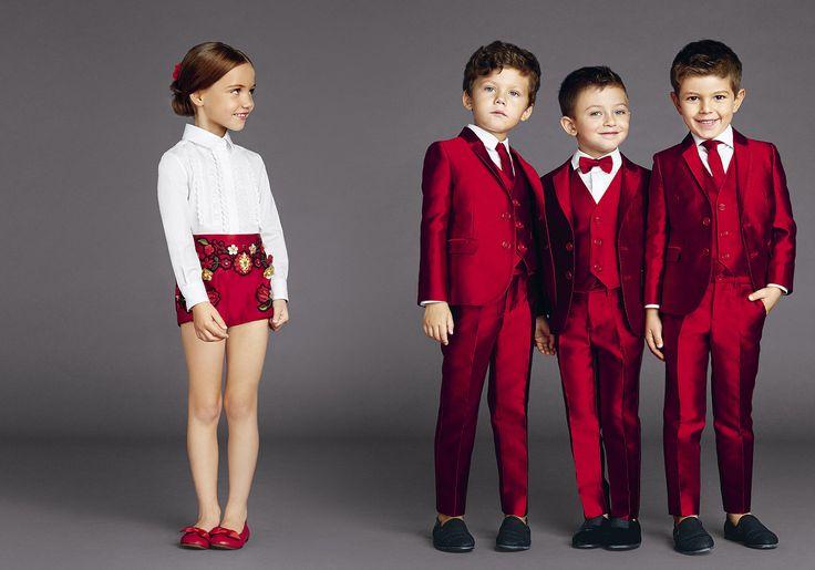 Dolce & Gabbana Children Summer Collection 2015.