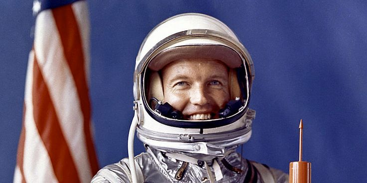 Gordon Cooper was part of the first class of NASA astronauts. He saw some stuff.