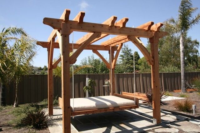 17 ideas about outdoor swing beds on pinterest porch. Black Bedroom Furniture Sets. Home Design Ideas