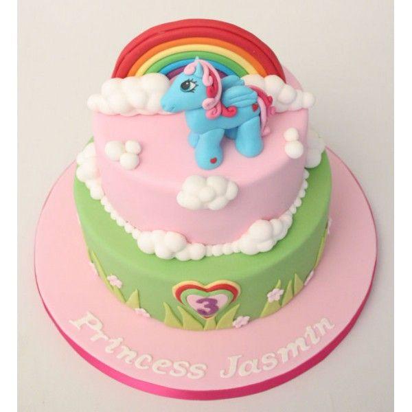 my little pony cake ideas  My Little Pony Birthday Cake