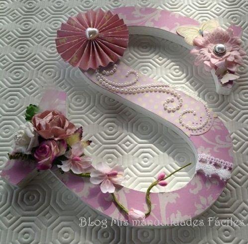 253 best images about Letras decoradas/Letters on Pinterest ...
