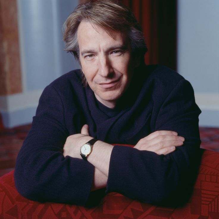 >> Alan Rickman, photo is part of a series taken by Didier Olivre in Paris on his birthday 21 Feb 1992