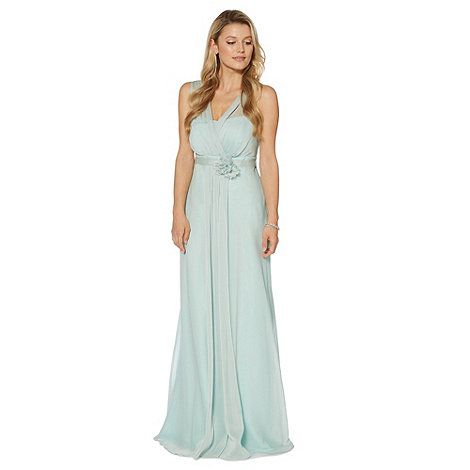 Debut Light green corsage detail maxi dress- at Debenhams Mobile