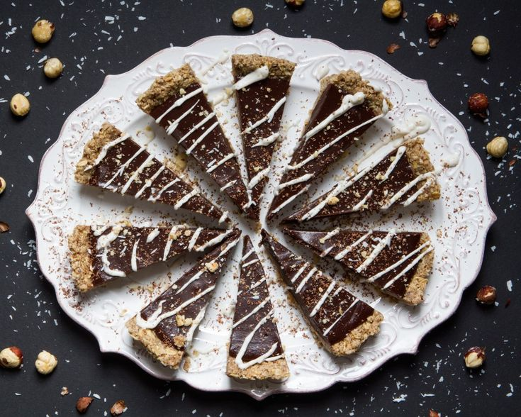 Chilled Chocolate-Espresso Torte with Toasted Hazelnut Crust from the Oh She Glows Cookbook and Interview with Angela Liddon