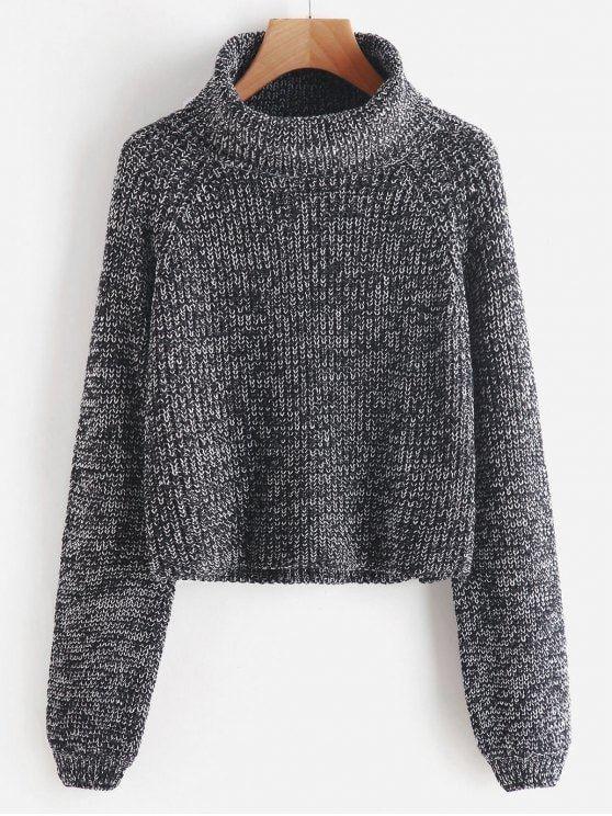 Up to 70% OFF!Turtleneck Heathered Pullover Sweater. #Zaful #tops #outfits #sweaters #sweaters #cardigans #chokersweater #chokers #chunkysweater #oversizedsweaters #knitsweater #knitwear #offtheshouldersweater #sweateroutfits #longcardigan #cardigan #cardiganoutfit #turtlenecksweaters #cashmeresweater #cashmerejumpers #womenfashion #winteroutfits #winterfashion #falloutfits #fallfashion #halloweencostumes #halloween #halloweenoutfits #halloweentops @zaful Extra 10% OFF Code:ZF2017