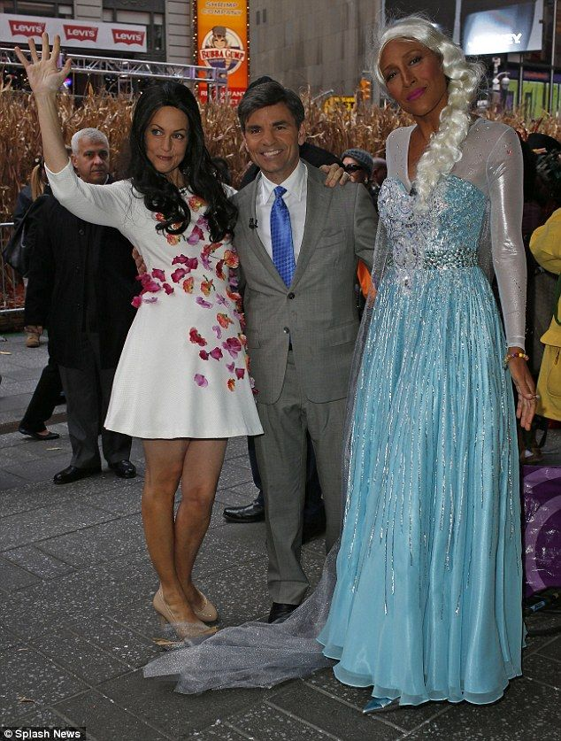 Of The Moment Newlyweds George Clooney And Amal Alamuddin Aka Stephanopoulos Robin Robertsfriday