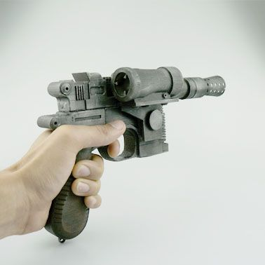 Download Han Solo's Blaster Star Wars by Elliott Viles -