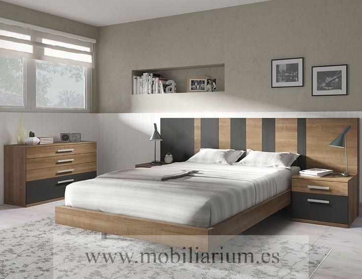 Dormitorios Modernos Lanmobel - Composición 05 Cabecero Art - Catálogo Muse - Mobiliarium