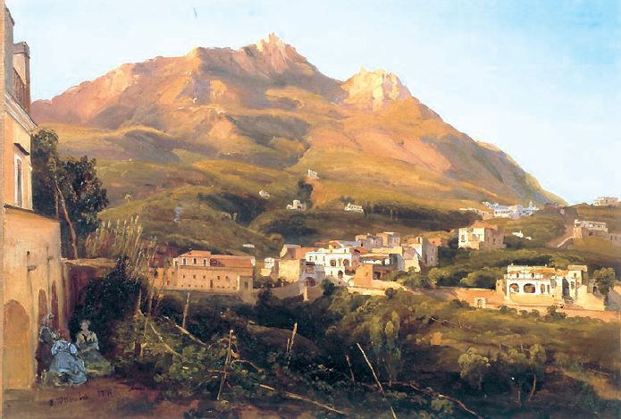 Casamicciola Giacinto Gigante1806-1876   CAPRI???
